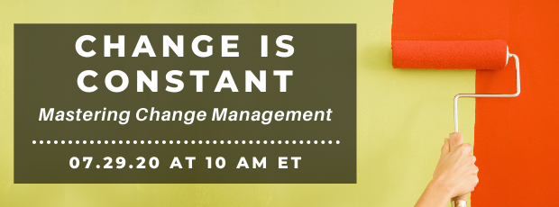 Register for our webinar, Change is Constant
