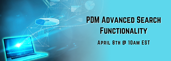 PDM Advanced Search Functionality